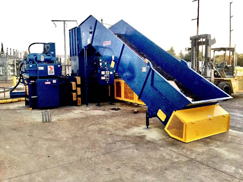 Transfer Station Baler