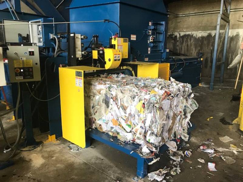 Waste Recycling Baler